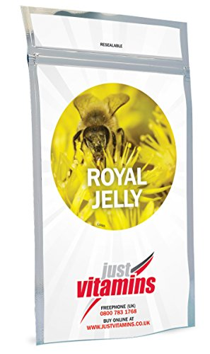 Just Vitamins Royal Jelly 500mg 360 Capsules by Just Vitamins by Just Vitamins Ltd