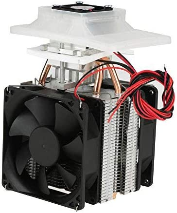 12V 6A Semiconductor Refrigeration Cooler DIY Air Cooling Device Power US Plug