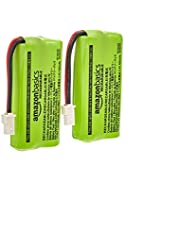 Amazon Basics Cordless Phone Replacement Battery Pack - BT162342, BT262342-2-Pack