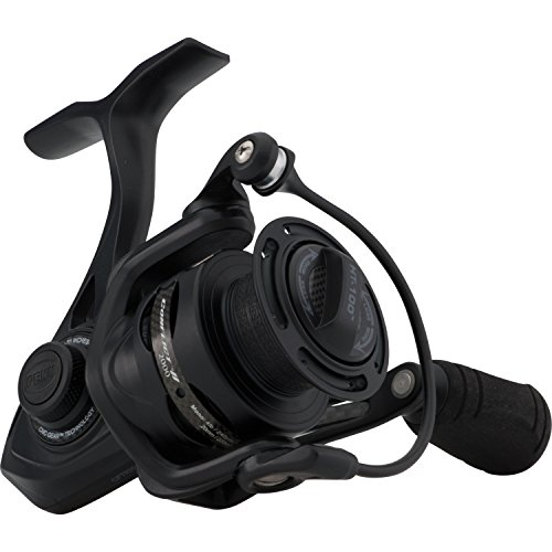 Penn 1422248 Conflict II Spinning Reel, 2000 Reel Size 6.2: 1 Gear Ratio, 31 Retrieve Rate, 10 lb Max Drag, Ambidextrous