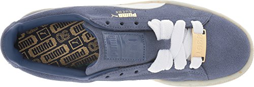 US 10 B PUMA Allure Blue White Classic Bboy Fab Women's Indigo Suede 6Sqg6xUB