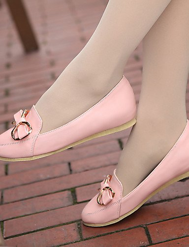 punta redonda sintética PDX blanco cn38 uk5 5 Flats mujer de negro rosa 5 Casual eu38 us7 plano talón blue azul Outdoor de zapatos piel atlético xqqfrF8zw