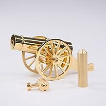 Miniature Napoleon Cannon Metal Naval Desktop Model Artillery Kit for Collection-Golden
