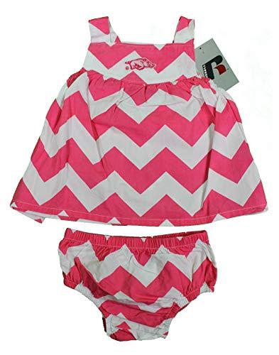 - NCAA University of Arkansas Girls Baby Sleeveless Dress & Bloo (3-6 Mt)
