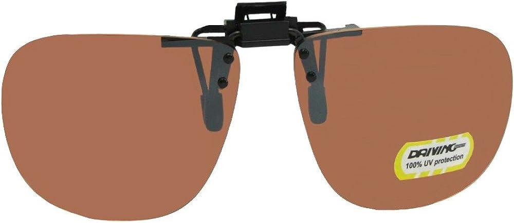 Square Non Polarized Driving Flip-up Sunglasses