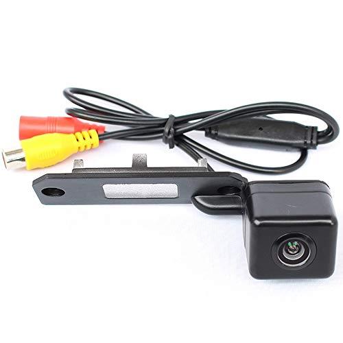 PolarLander Cámara de visión Trasera Cámara de Marcha atrás 72 * 24 mm para VW Touran Passat Jetta Caddy Golf Plus...