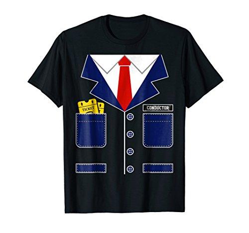 Train Conductor Uniform T-Shirt Halloween Costume for Kids