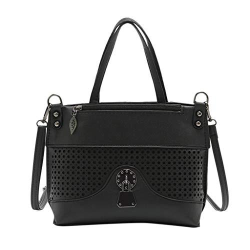 popolare Sylar Bag Fashion casual Zaini Primavera 2019 Ritagliata Totes Estate donna New Borse e Tracolla Skin Nero rrqwCda