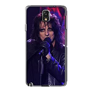 Scratch Resistant Hard Phone Covers For Samsung Galaxy Note3 (OFS9017ZZuu) Custom Vivid Alice Cooper Band Pattern