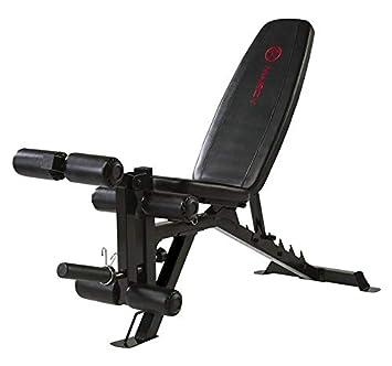Marcy UB9000 - Banco de musculación hasta 270 kg - Curl de piernas ...