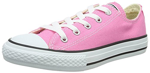 Converse All Star Low Top Kids/Youth Shoes Boys/Girls Sneakers (2.0 Kids, Low Pink/White)