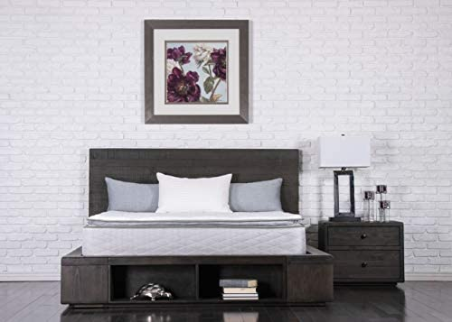Dreamfoam Bedding Doze 11″ Plush Pillow Top Mattress, King, Made in The USA
