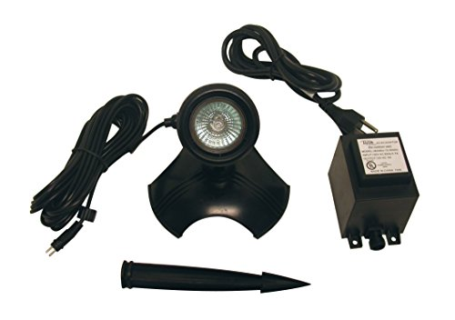 Alpine PLD150T Light with Transformer for Use in Water Only, 50-watt 50w Pond Light