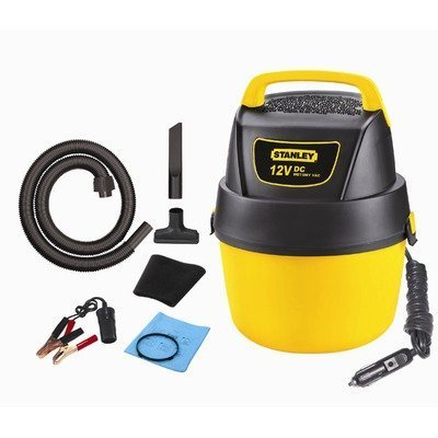 Stanley Wet/Dry Vacuum, 1 Gallon, 12-Volt DC by Stanley Review