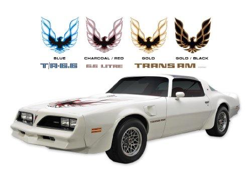 1978 Pontiac Trans Am Decals & Stripes Kits - GOLD/BLACK