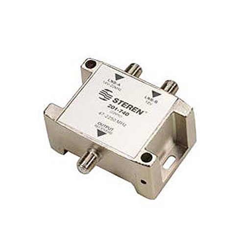 22 KHz Tone Control Switch SW22 2X1 Multiswitch FTA 47 - 2250 MHz LNB Feed DVB 4DTV 2 GHz with Built-In IF Amplifier Digital Satellite