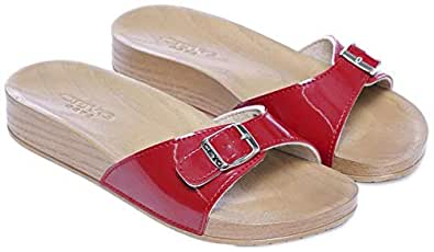 Ceyo Red Flip Flops Slipper For Women