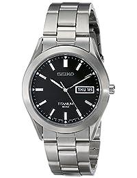Seiko Men's SGG707 Titanium Case and Bracelet Watch