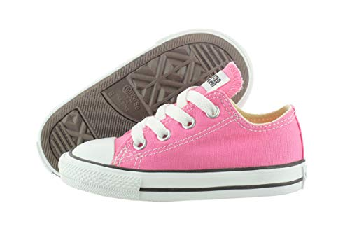 Converse Kids' Chuck Taylor All Star Canvas Low Top Sneaker Pink 5 M US -