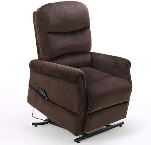Christopher Knight Home Halea Fabric Lift Up Chair