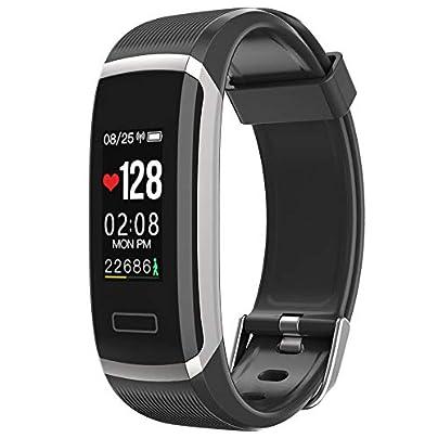 ZZXXCC Smart Wristband Color Screen Smart Bracelet Women Men Sport Fitness Tracker Heart Rate Monitor Waterproof Estimated Price -