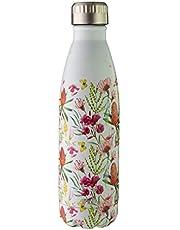 Avanti Hydration BottleFluid Vacuum Bottle, Australian Natives White, 12021