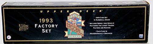 1993 Upper Deck MLB Baseball Factory Set
