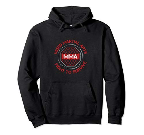 MMA Fighter Hoodie Mixed Martial Arts Fighting Gift