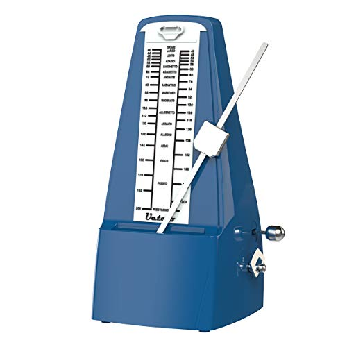 Metrónomo mecánico Ueteto azul