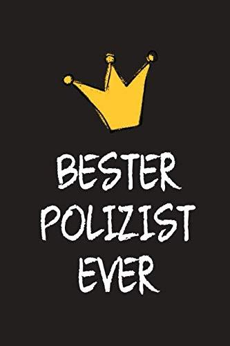 Bester Polizist: DIN A5 • Punkteraster 120 Seiten • Kalender • Notizbuch • Notizblock • Block • Terminkalender • Abschied • Abschiedsgeschenk • Ruhestand • Arbeitskollege • Geburtstag (German Edition) (Brille Billig)
