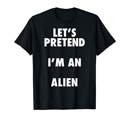 Halloween Alien Costume Idea Shirt for Kids and ()