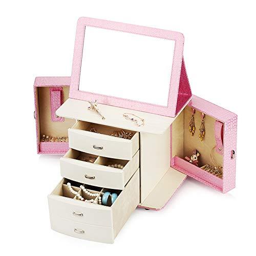 Jewelry Box Pink Jewellery Box Organiser Display