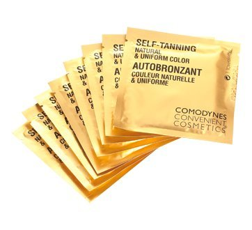 Comodynes Self Tanning Towelette Dispenser For Face and Body 30 Towelettes by Comodynes (Image #3)