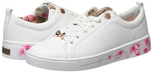 Blanc blossom Baker white Baskets Ted Kelleip Femme OP1R0vn