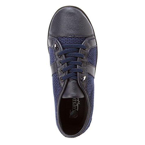 40 athletic Black shoes Arcopedico M Lace Women's and Leta Navy sneakers Up wxqzRSC