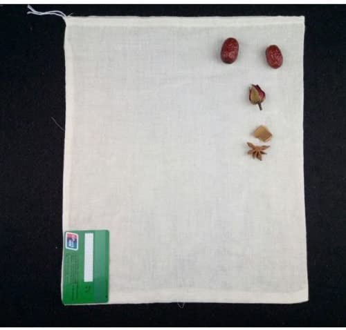 10 100 Pack Cotton Muslin Drawstring Bags Soap Herbs Tea Reusable Packing Bath