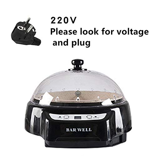 Coffee roaster, small household electric coffee roaster 220V (black)