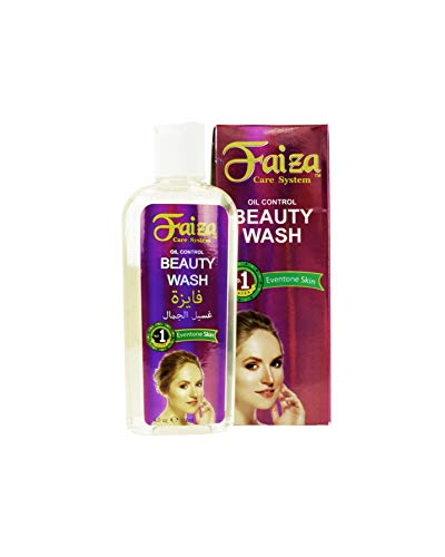 Faiza Vitamin E Anti-Aging Facial Wash, 4 fl oz - Hydrocodone-Free, Oil-Free Control Facial Lightening Solution for Men & Women