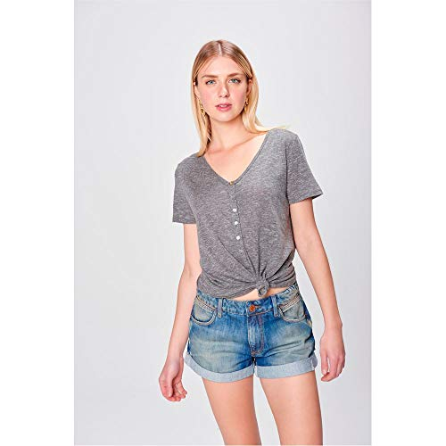 b399d0d7bf Short Jeans Boyfriend com Puídos Tam: 40 / Cor: | iLovee