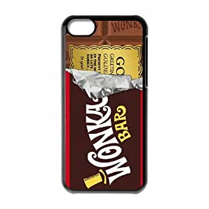 Ipod 6 Cases Cell Phone Case Cover black Willy Wonka Golden Ticket Chocolate Bar 5T6T919151