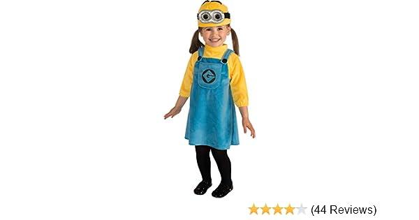Toddler Minion Girl Costume Minion Costume 2-4 Minion Movie Costume 886440