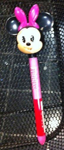 Disney Minnie Mouse Big Head Figurine Pen NEW