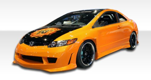 -2011 Honda Civic 2DR Duraflex Type M Side Skirts Rocker Panels - ()