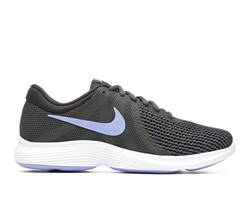 74bd740f69fd Galleon - Nike Womens Revolution 4 Anthracite Twilight Pulse-Black-Black Running  Shoes (6)