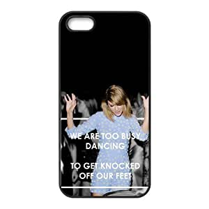 the Case Shop- Taylor Swift Quotes Singer TPU Rubber Hard Back Case Silicone Cover Skin for iPhone 5 and iPhone 5S , i5xq-485