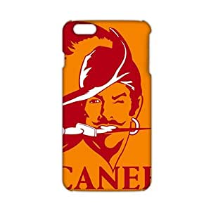 ANGLC Tampa Bay Buccaneers (3D)Phone Case for iPhone 6plus