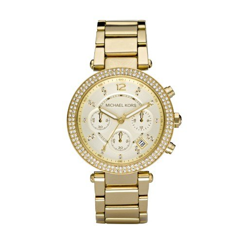 Michael+Kors+Women%27s+Parker+Gold-Tone+Watch+MK5354