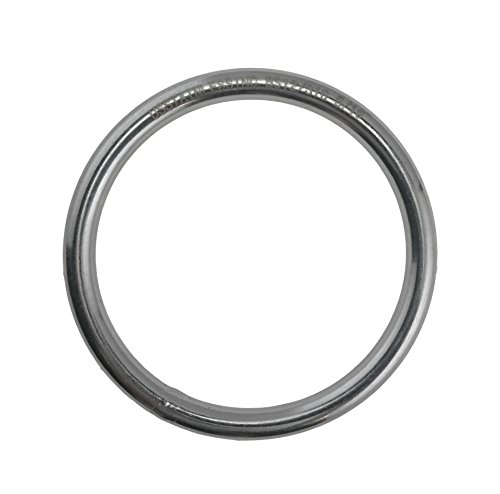 Stainless Steel 316 Round Ring Welded 5/16