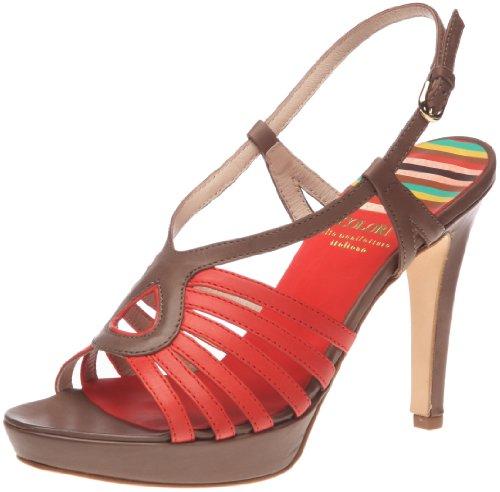 Colori C20035 C20035 - Sandalias para mujer Rojo