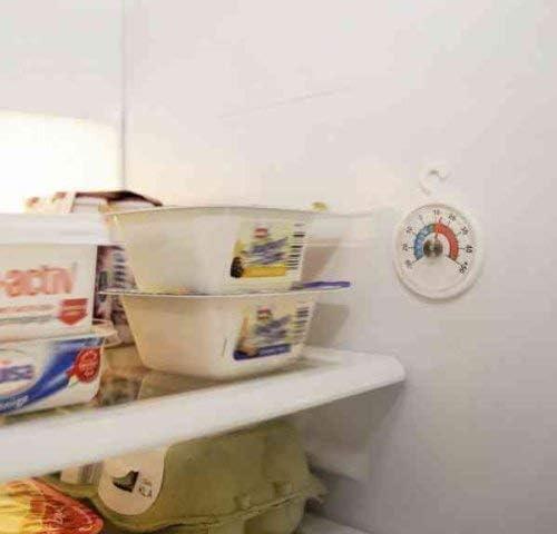 Compra Xavax 00111309 - Termómetro Redondo para frigoríficos en ...